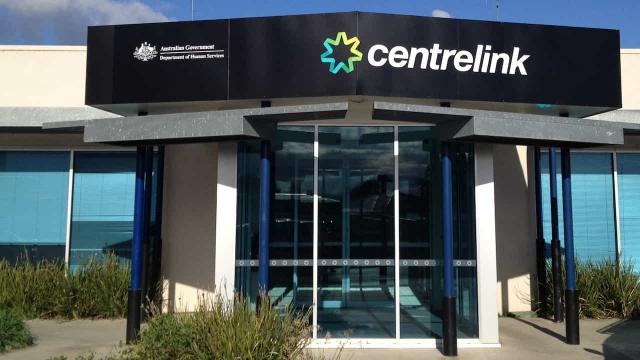 Centrelinkのオフィスの入り口の画像