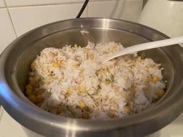 オレ流の雑穀米の画像