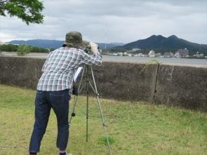 12 観察のようすと立花山
