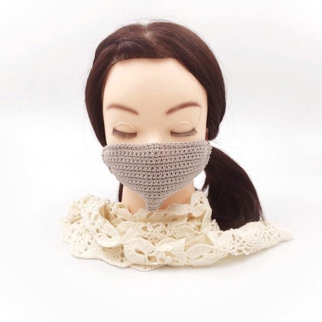 手編み雑貨 HanahanD,手作りマスク,販売禁止