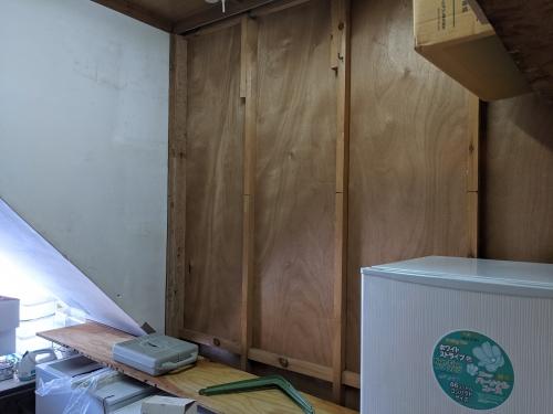 20201205草津温泉カフェ花栞(はなしおり)棚作成1