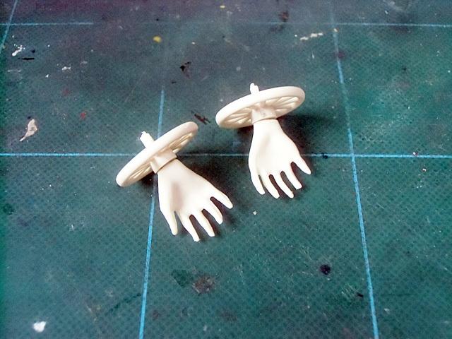 手首のついた前輪
