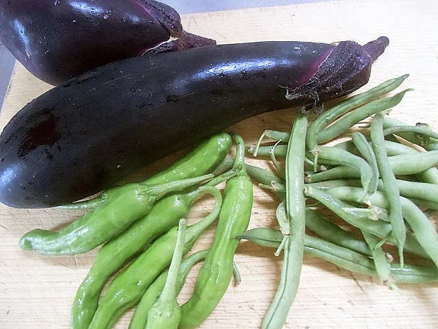 三種の夏野菜