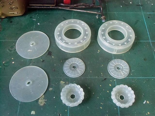 車輪の部品