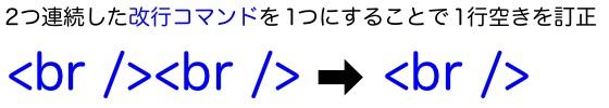 01改行コマンド校正