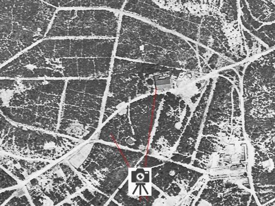 東寺別院米軍空中写真検討図20201004