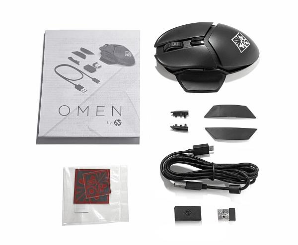 OMEN by HP PHOTON ワイヤレスマウス_付属品_20200823_164117