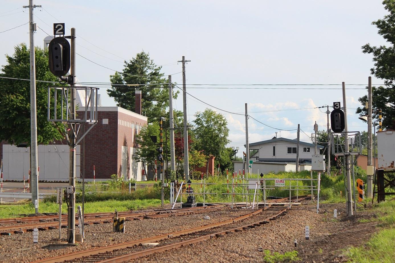 廃止2ヶ月半後の石狩月形駅a203