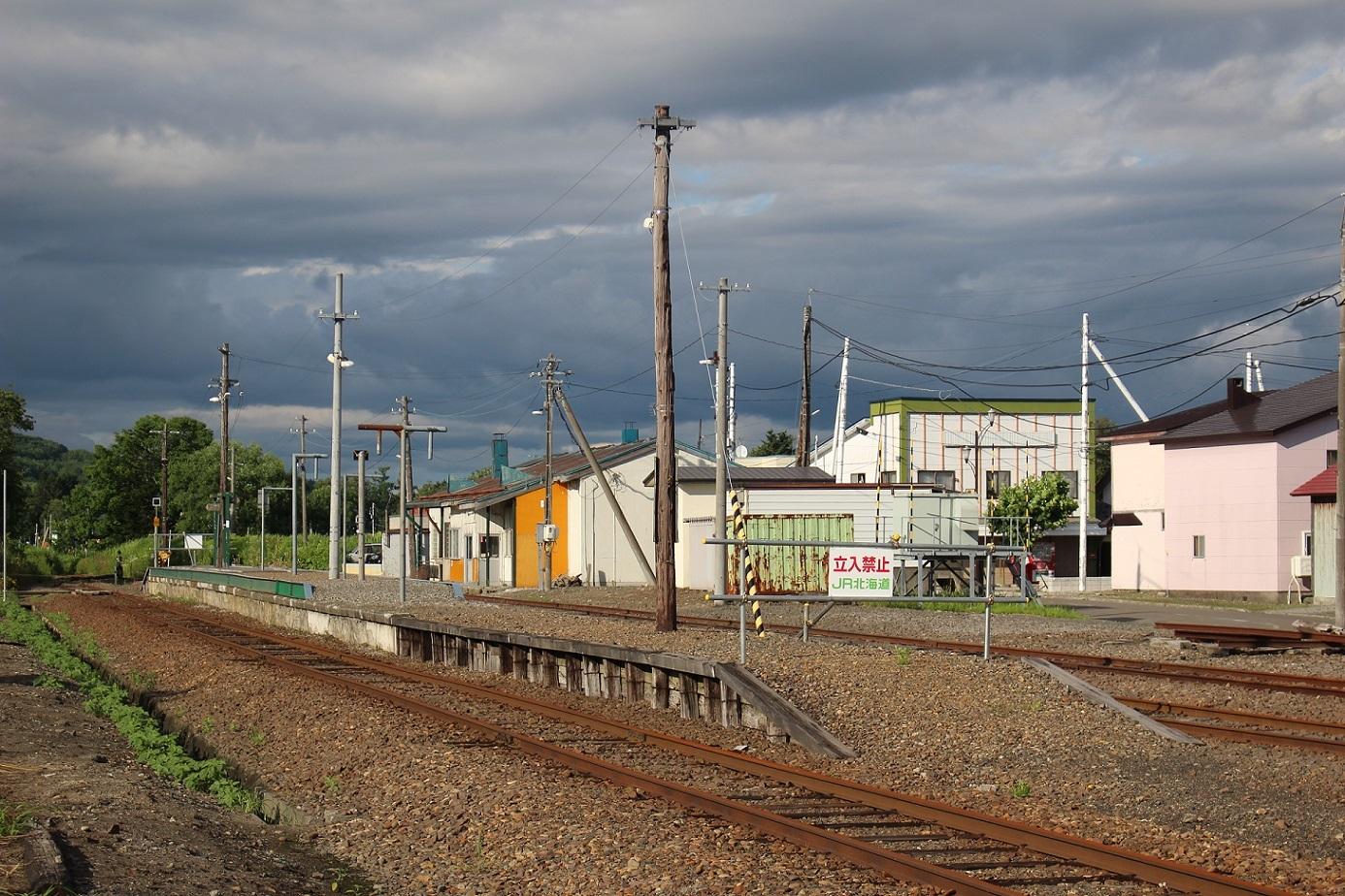 廃止2ヶ月半後の石狩月形駅a204