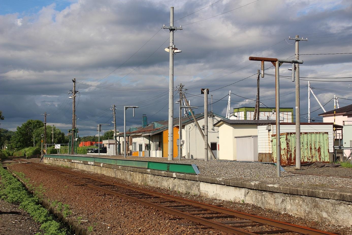 廃止2ヶ月半後の石狩月形駅a205
