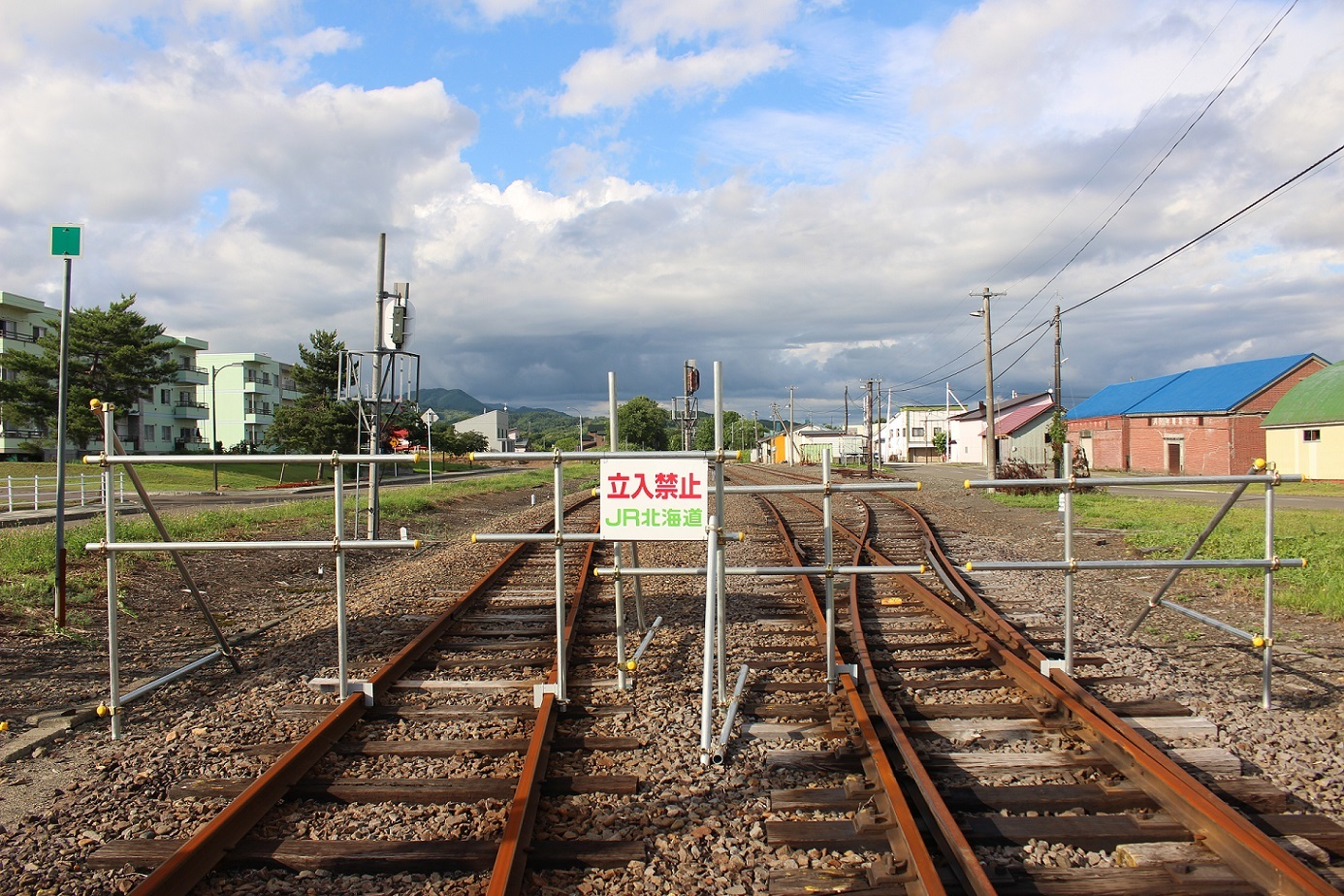廃止2ヶ月半後の石狩月形駅a210