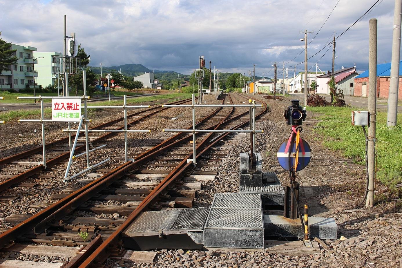 廃止2ヶ月半後の石狩月形駅a211