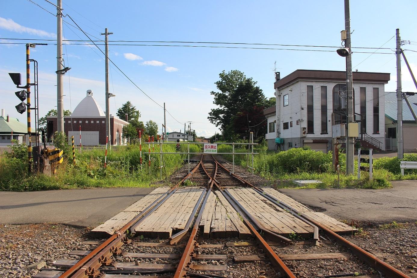 廃止2ヶ月半後の石狩月形駅a215