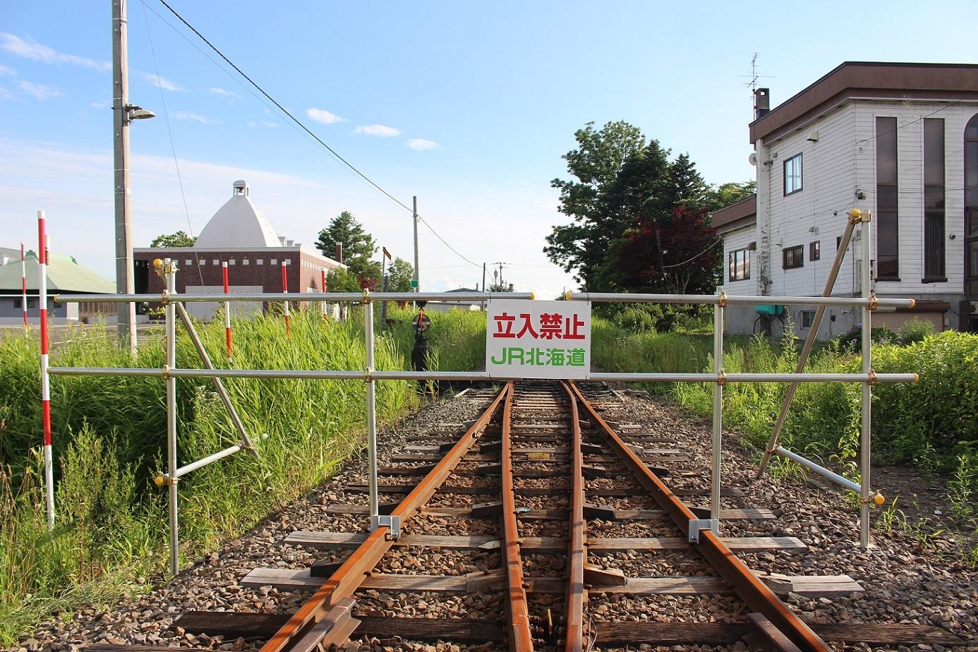 廃止2ヶ月半後の石狩月形駅a217