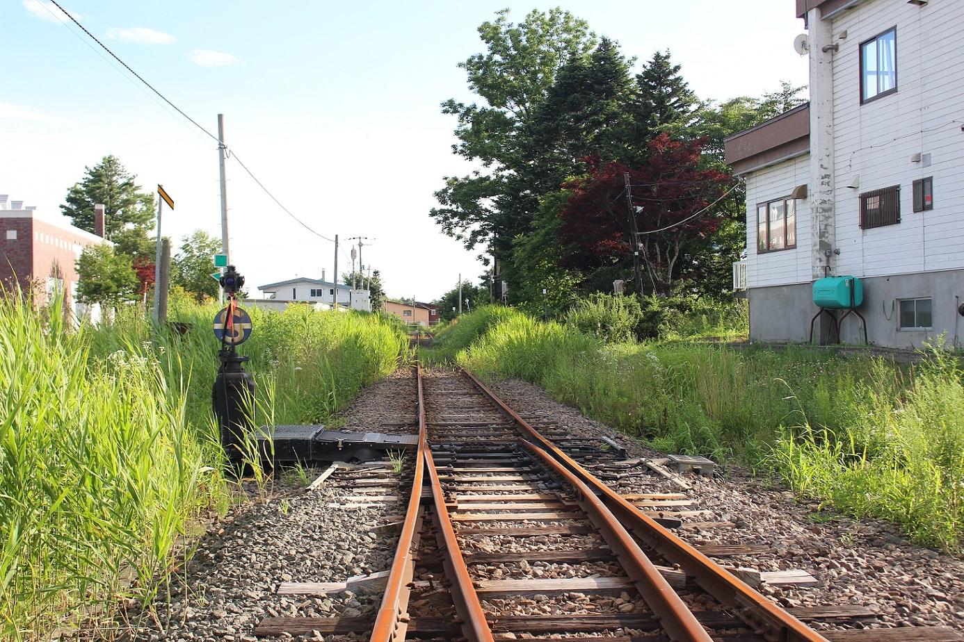 廃止2ヶ月半後の石狩月形駅a218