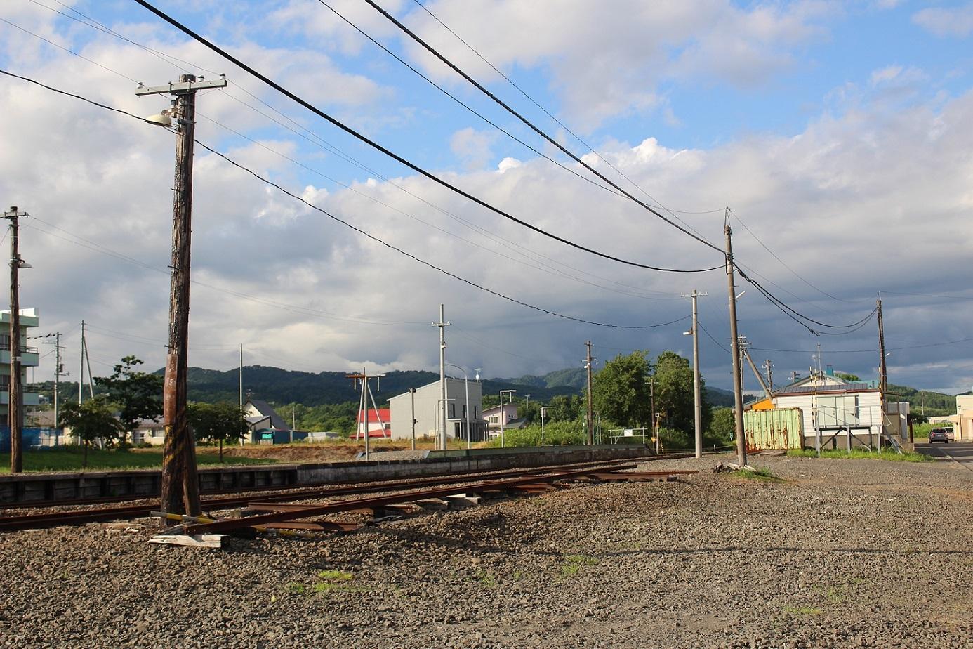 廃止2ヶ月半後の石狩月形駅a222
