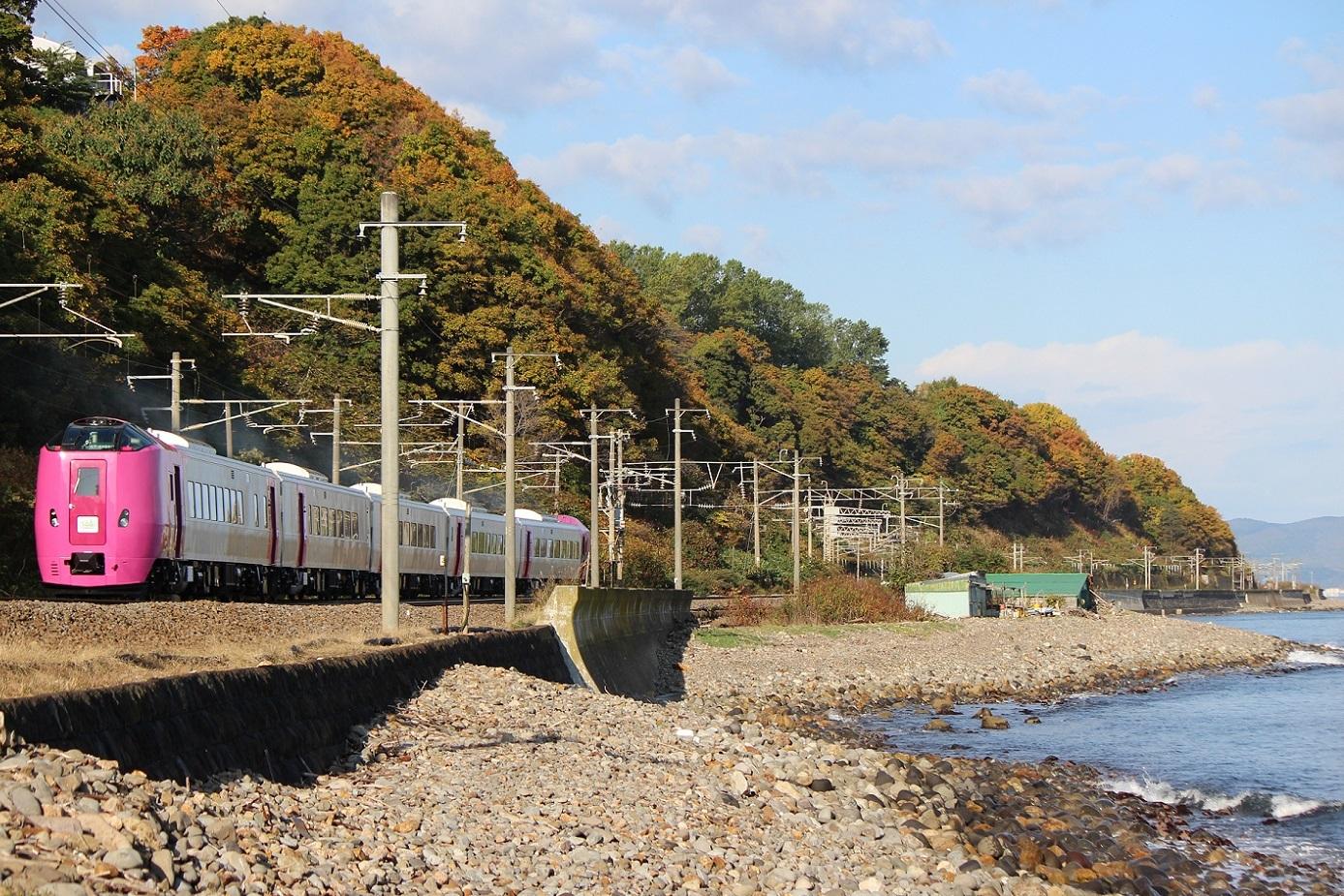 はまなす北海道鉄道140周年記念号a01