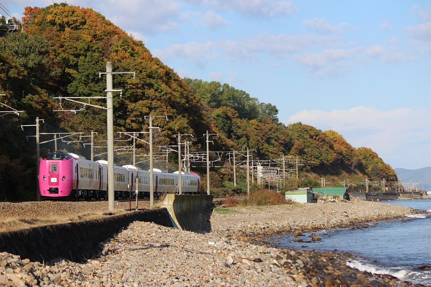 はまなす北海道鉄道140周年記念号a02