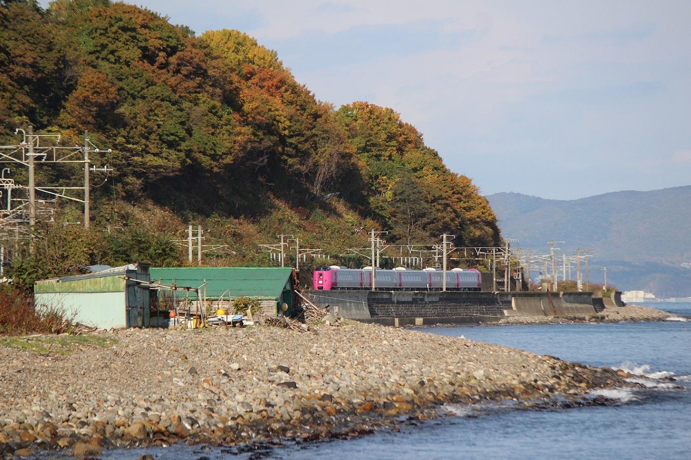 はまなす北海道鉄道140周年記念号a04