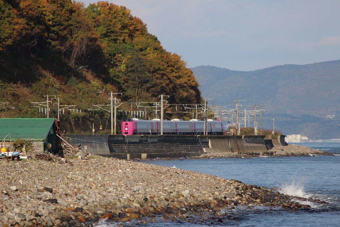 はまなす北海道鉄道140周年記念号a05