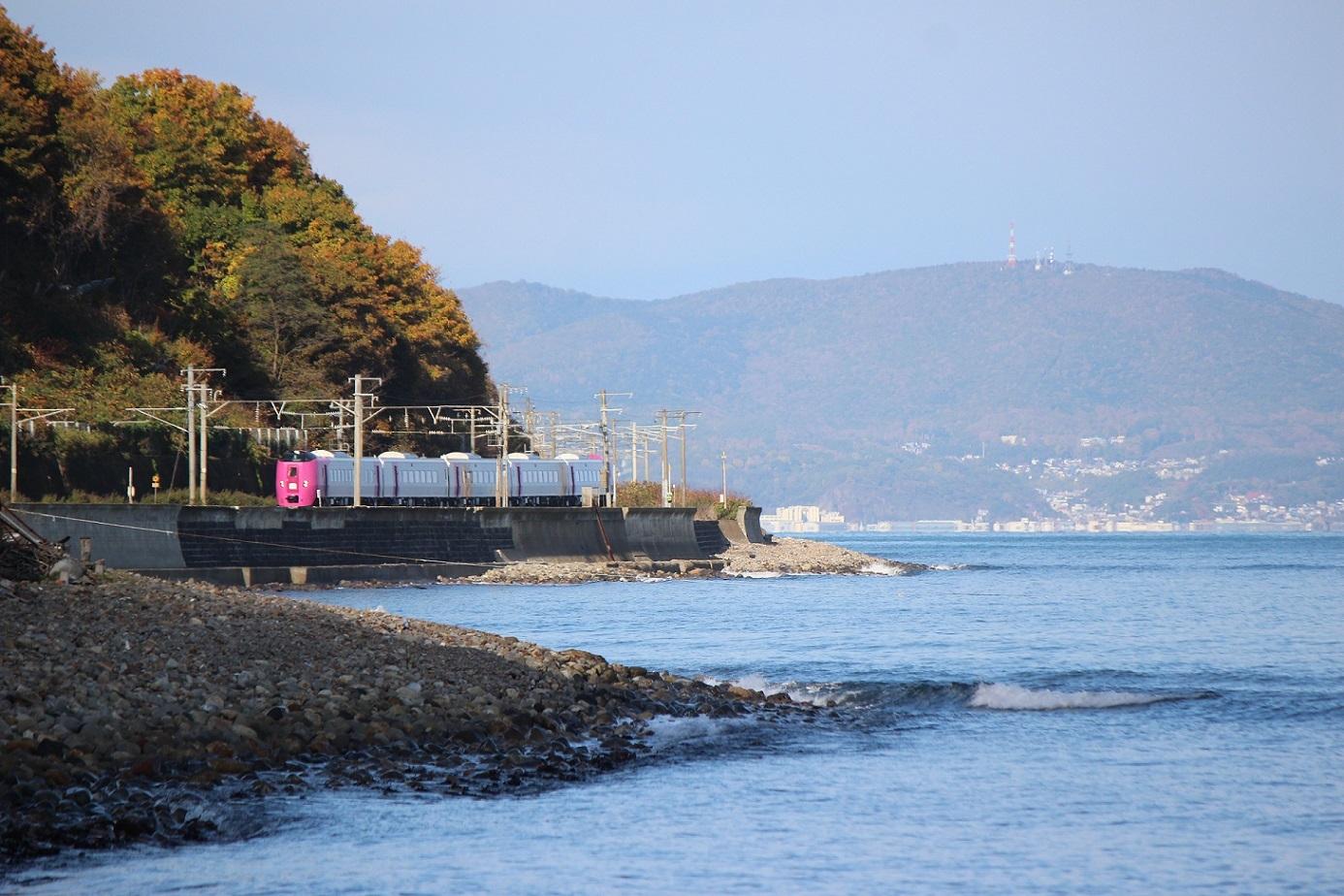 はまなす北海道鉄道140周年記念号a07
