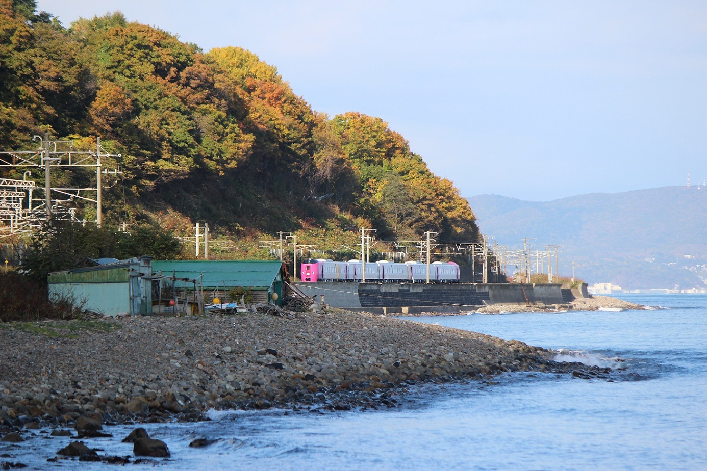 はまなす北海道鉄道140周年記念号a08