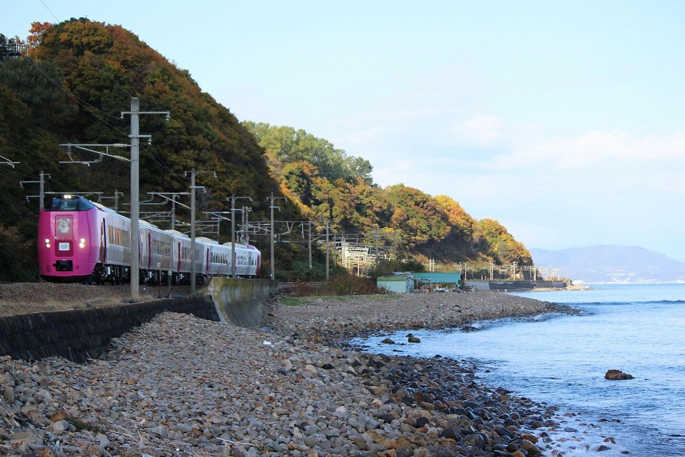 はまなす北海道鉄道140周年記念号a09