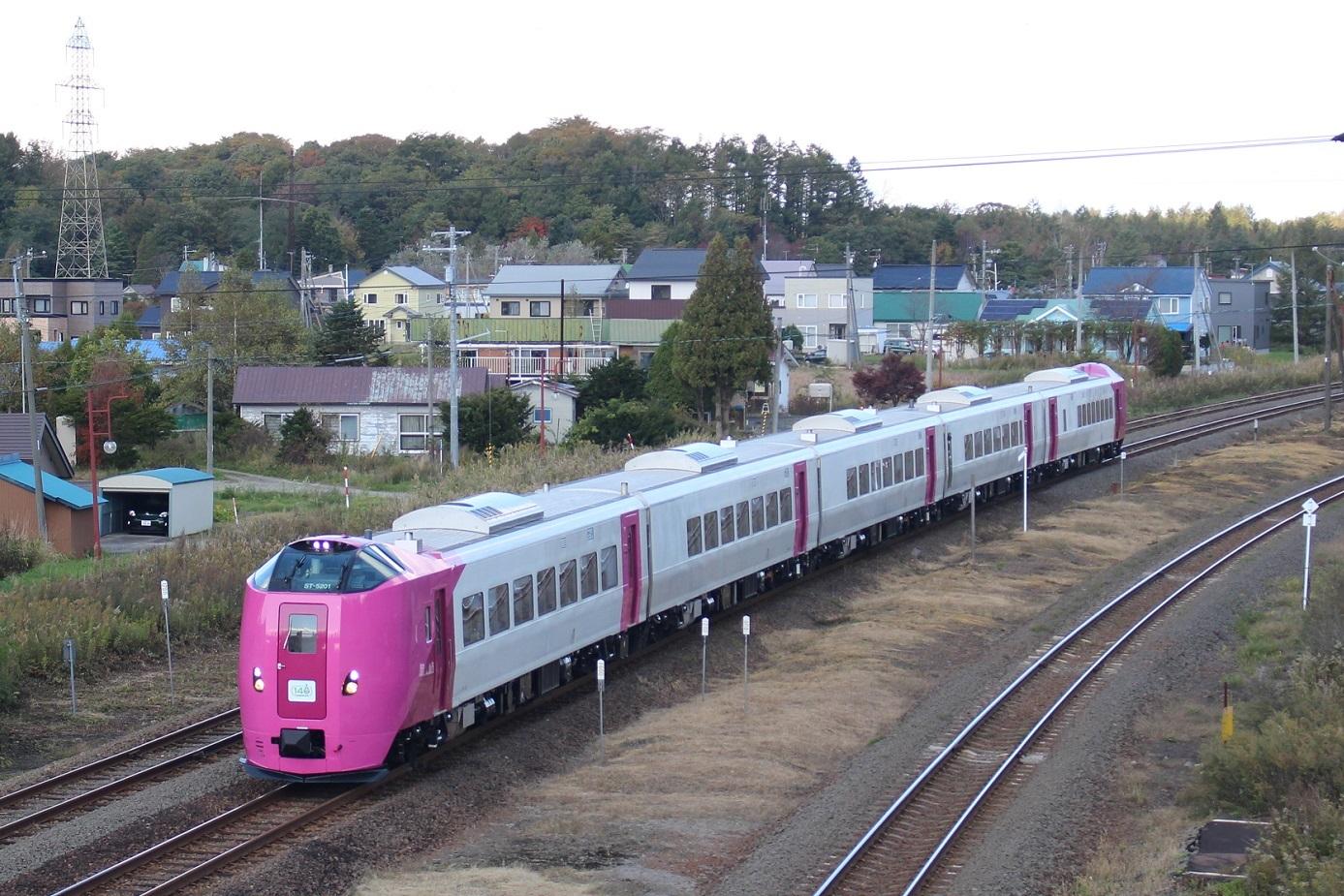 はまなす北海道鉄道140周年記念号a101