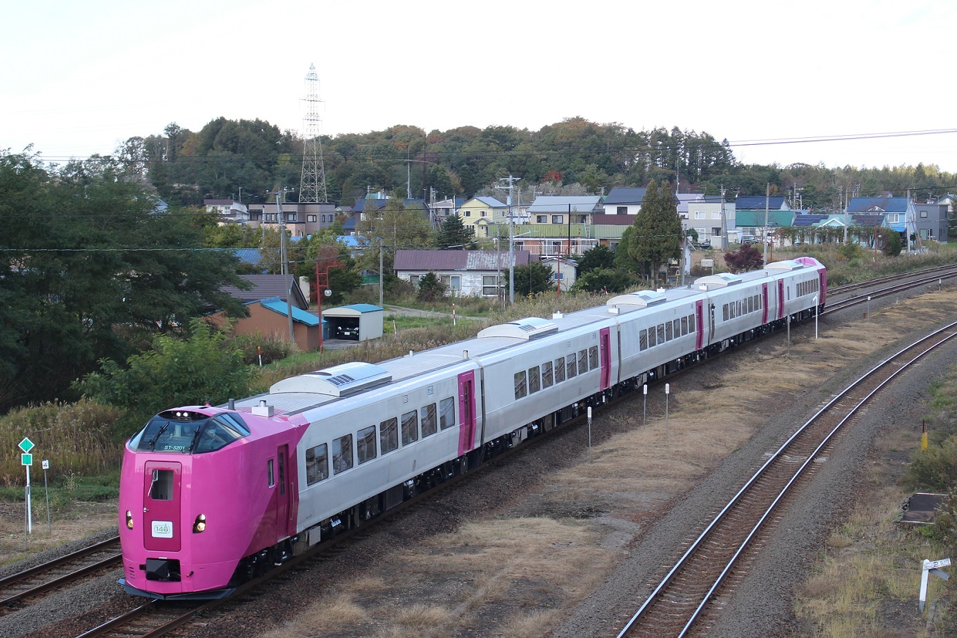 はまなす北海道鉄道140周年記念号a102