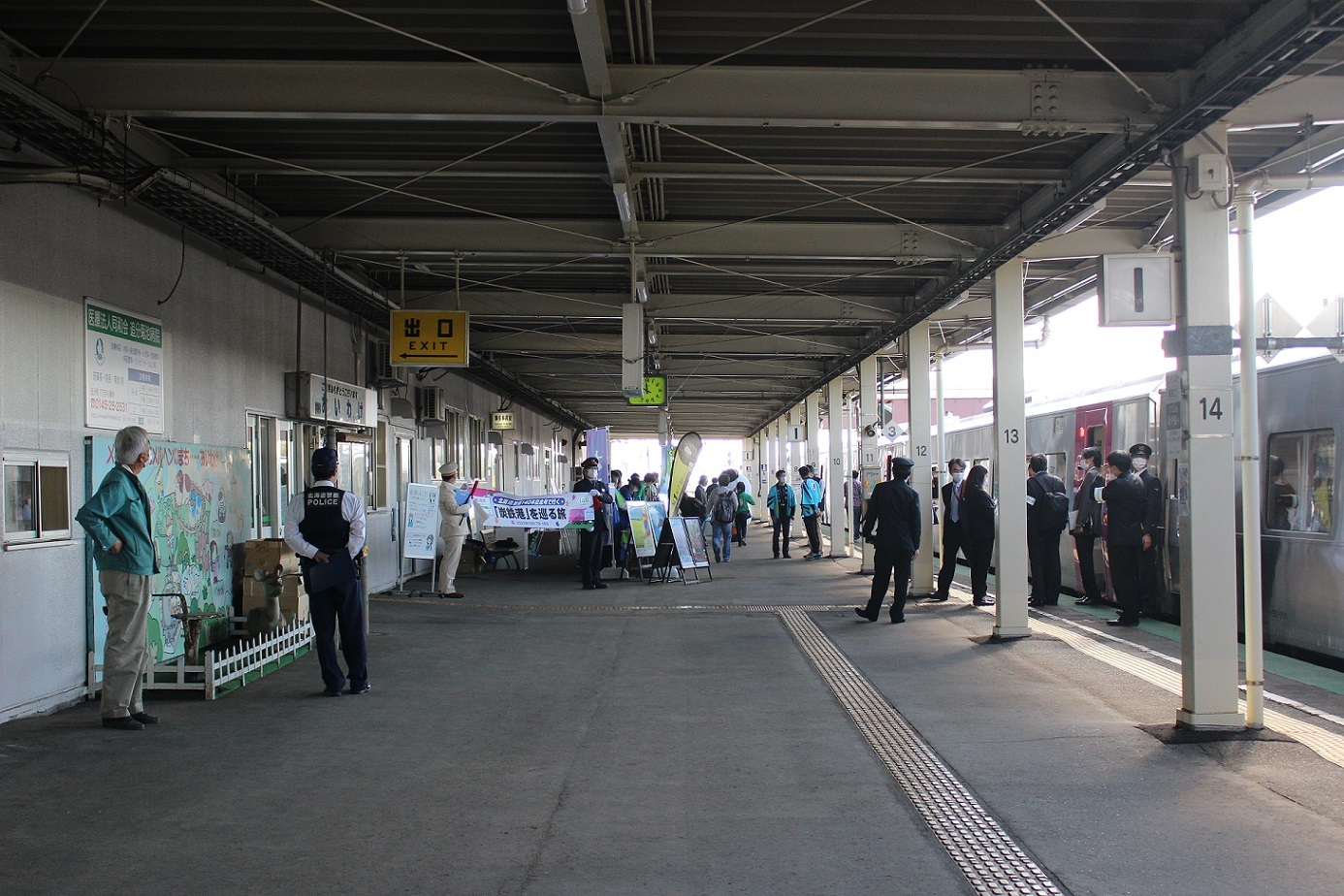 はまなす北海道鉄道140周年記念号a117