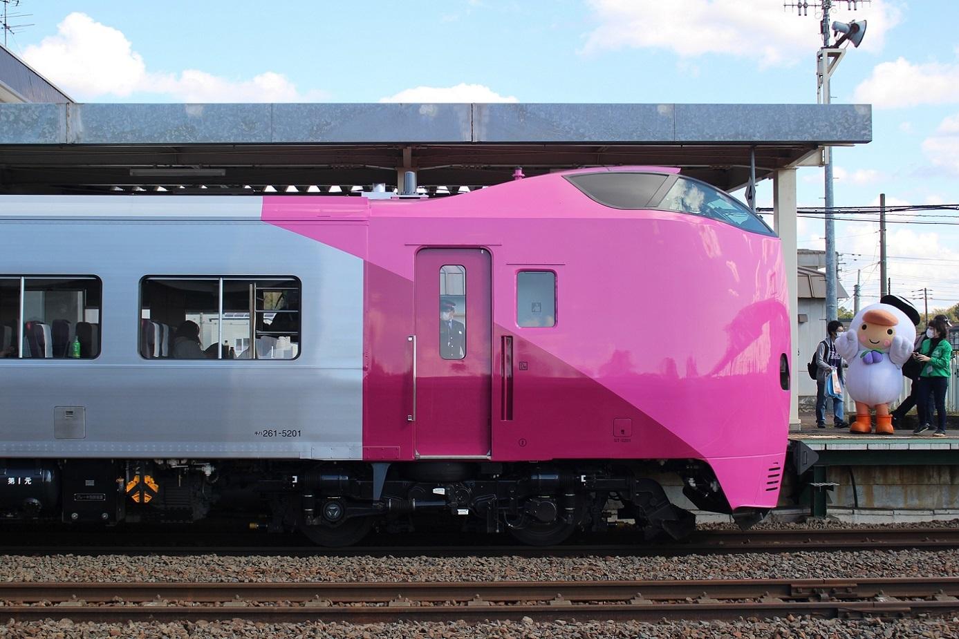 はまなす北海道鉄道140周年記念号a119