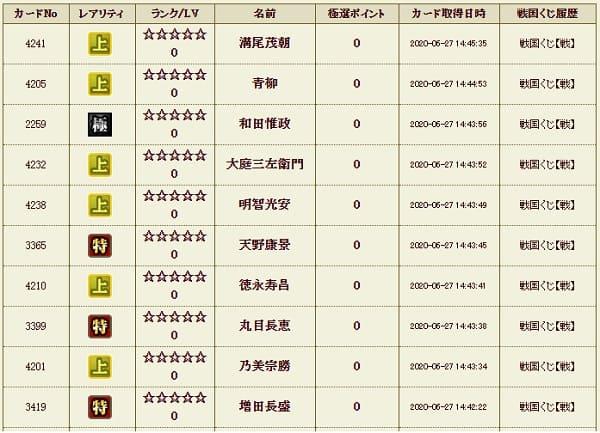 戦くじ本3