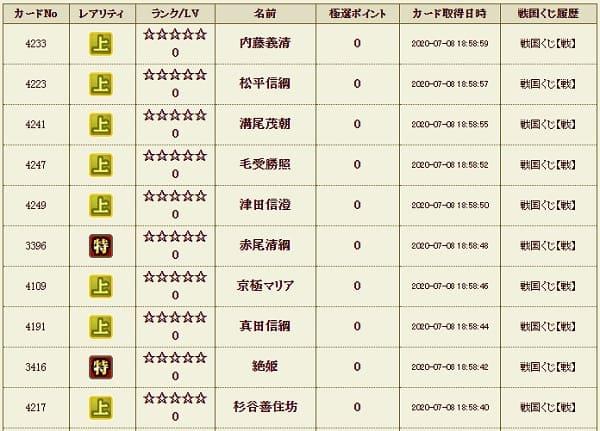戦くじ影2