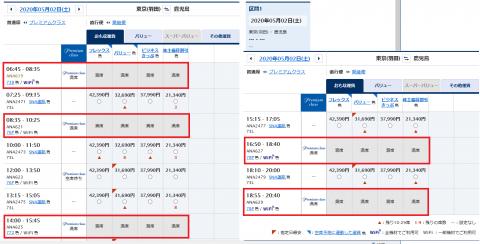 ANA HND→KOJ 2020-05-02