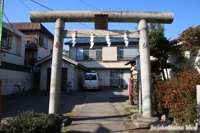 富士見台稲荷神社  練馬区富士見台1