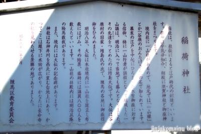 富士見台稲荷神社  練馬区富士見台3