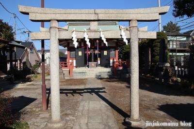 富士見台稲荷神社  練馬区富士見台5