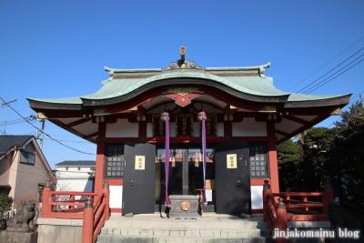 富士見台稲荷神社  練馬区富士見台7