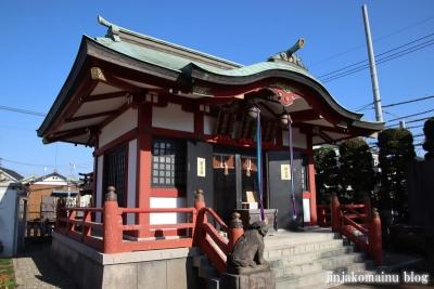 富士見台稲荷神社  練馬区富士見台8