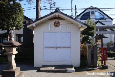 富士見台稲荷神社  練馬区富士見台25