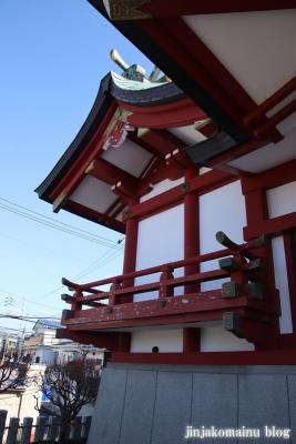 富士見台稲荷神社  練馬区富士見台9