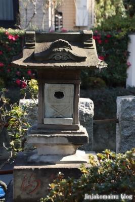 富士見台稲荷神社  練馬区富士見台12