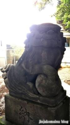 馬込天祖神社 大田区北馬込2