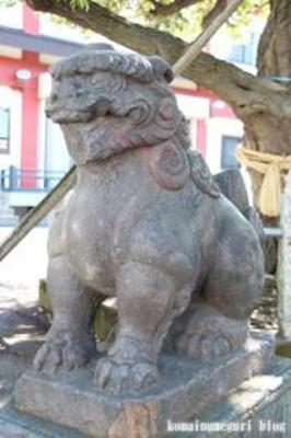 諏訪神社 大田区多摩川5