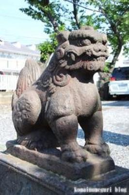 諏訪神社 大田区多摩川6