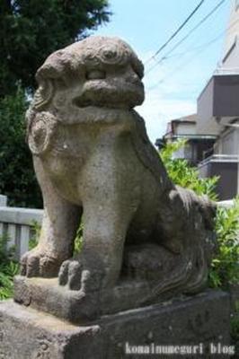 六所神社 大田区下丸子1