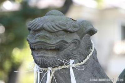 雪ケ谷八幡神社 大田区東雪谷2-25-3