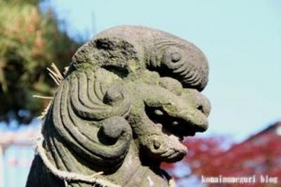 白山神社 大田区西六郷2-23-16