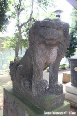 久が原東部八幡神社 大田区久が原2-18-5