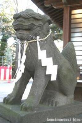 雪ケ谷八幡神社 大田区東雪谷2-25-1